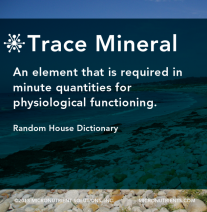 Micronutrients-Glossary-Trace Mineral